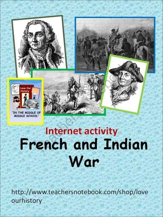 French and Indian War Worksheet together with 68 Best French and Indian War Images On Pinterest