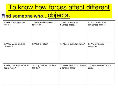 Friction Worksheet Answers as Well as forces Worksheet Year 4 Kidz Activities
