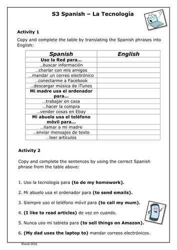 Future Tense Spanish Worksheet Also Healthy Living and Future Tense by Lydiadavies Teaching Resources