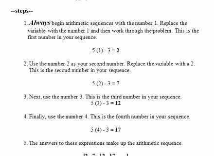 Geometric Sequences Worksheet Answers or Arithmetic Sequence Word Problems Worksheet with Answers Luxury