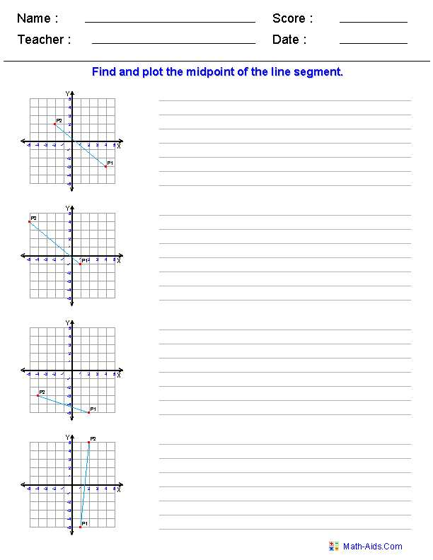 Geometry Segment and Angle Addition Worksheet Answer Key or Geometry Worksheets