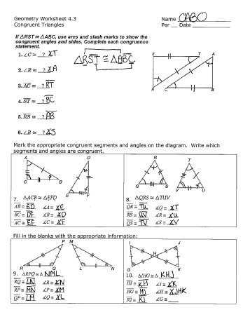 Geometry Segment and Angle Addition Worksheet Answer Key with Worksheet Answers for Geometry Worksheets for All