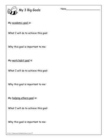 Goal Setting Worksheet for High School Students with 19 Best Goals Images On Pinterest