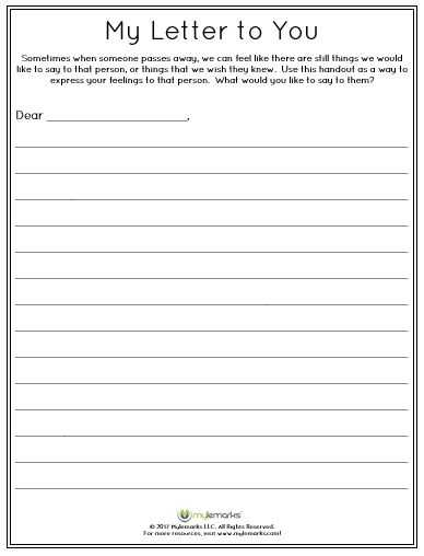 Grief and Loss Worksheets or 9 Best Grif Images On Pinterest