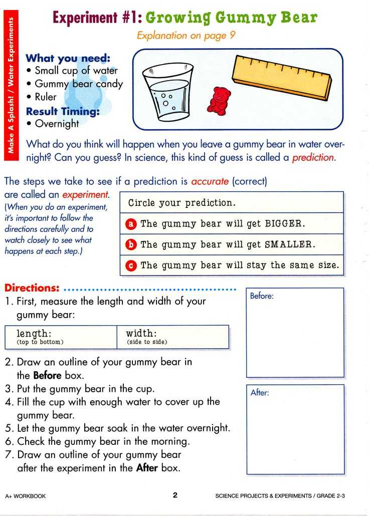Gummy Bear Science Experiment Worksheet as Well as 75 Best Candy Experiments Images On Pinterest