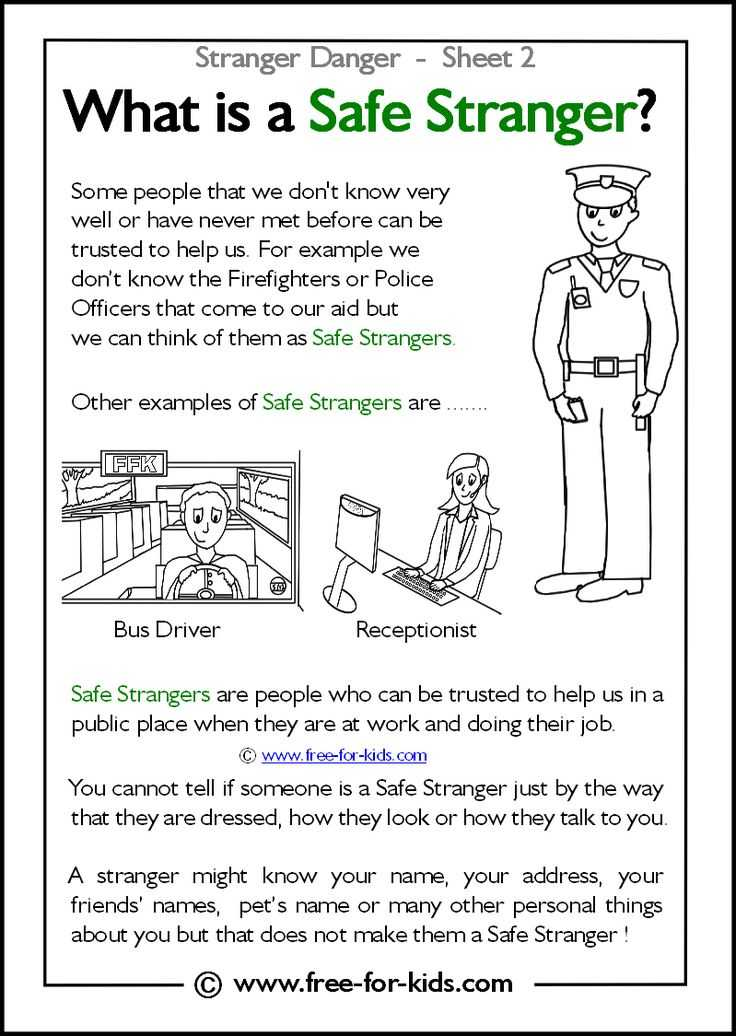Health and Safety In the Workplace Worksheets as Well as 14 Best Stranger Danger Images On Pinterest