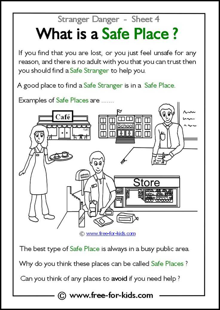 Health and Safety In the Workplace Worksheets together with 14 Best Stranger Danger Images On Pinterest