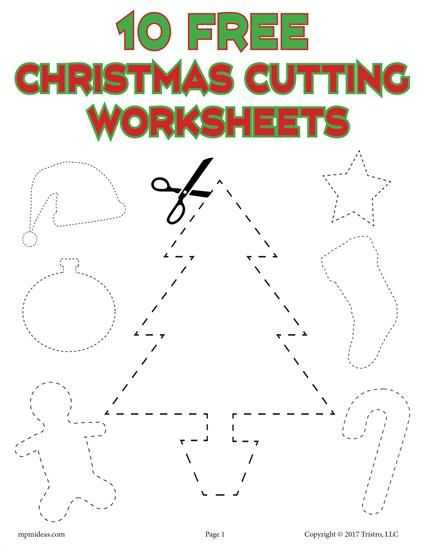 Health Triangle Worksheet as Well as 10 Printable Christmas Shapes Cutting Worksheets