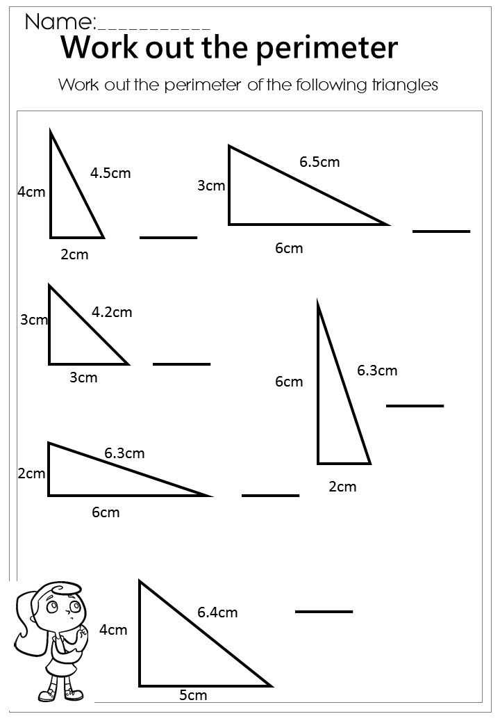 Health Triangle Worksheet as Well as 314 Best area and Perimeter Images On Pinterest