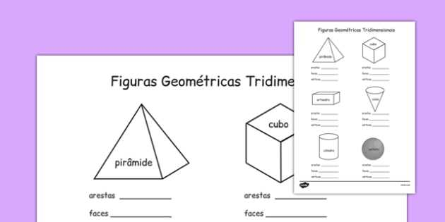 Health Triangle Worksheet with 3d Shape Properties Worksheets Portuguese Portuguese 3d