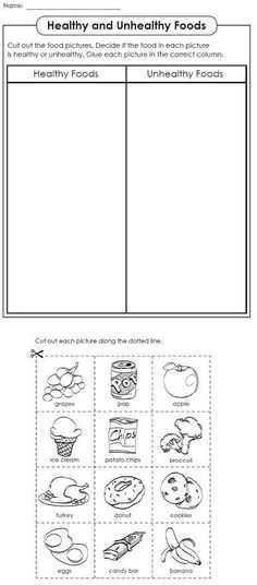 Healthy Food Worksheets or Food Pyramids for Preschoolers Preschool Fun Pinterest