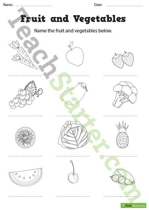 Healthy Living Worksheets Pdf or Healthy Living Resource Collection – Teach Starter
