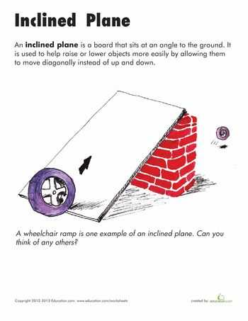 Inclined Plane Worksheet Also 22 Best Science Simple Machines Images On Pinterest