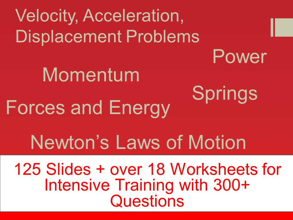 Inertia Worksheet Middle School with Plete force and Motion Bundle Inclusive Of Over 18 Worksheets