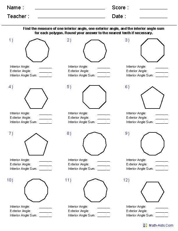 Interior Angles Worksheet Along with 922 Best Geometria Images On Pinterest