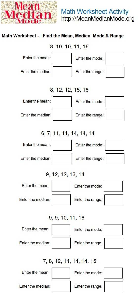 Interquartile Range Worksheet together with 174 Best Mean Median Mode Range Images On Pinterest