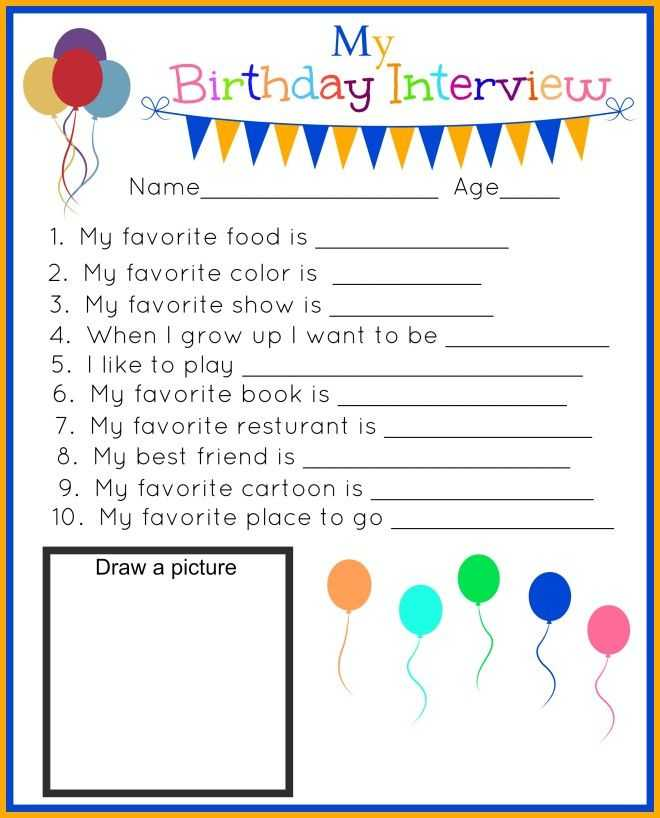Interview Worksheet for Students Along with 14 Best Alex 3rd Birthday Party Images On Pinterest