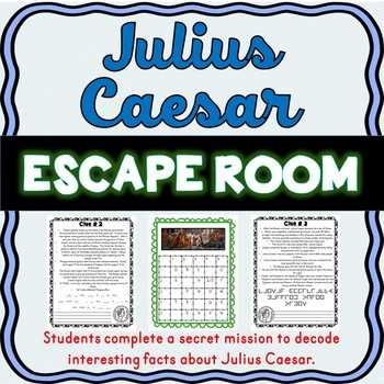 Julius Caesar Vocabulary Act 1 Worksheet Answers together with Julius Caesar Puzzle Teaching Resources