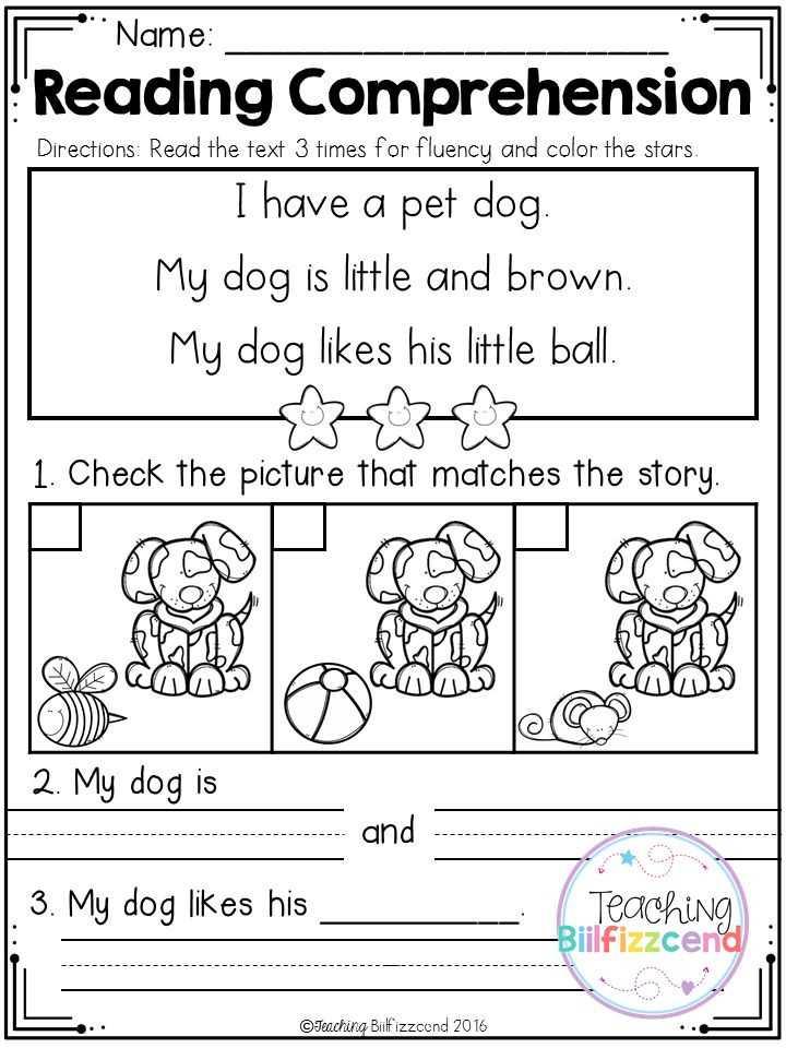 Kindergarten Reading Comprehension Worksheets or Kindergarten Reading Prehension Worksheets New 49 Best English