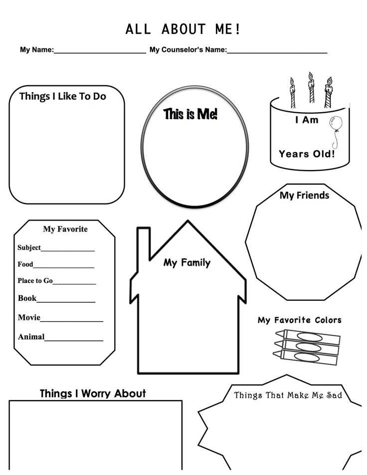 Kindergarten Separation Anxiety Worksheets Along with 120 Best Worksheets for School Counselor Images On Pinterest