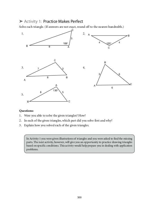 Law Of Sines Practice Worksheet Answers Also Worksheets 50 Re Mendations Law Sines and Cosines Worksheet