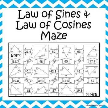 Law Of Sines Practice Worksheet Answers as Well as 470 Best Geometry Images On Pinterest