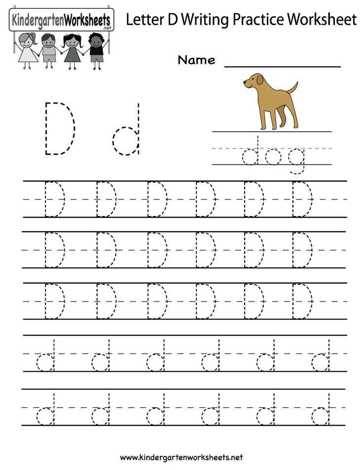 Letter D Preschool Worksheets as Well as 30 Best Writing Worksheets Images On Pinterest