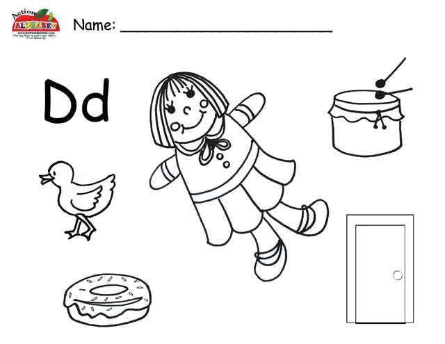 Letter D Preschool Worksheets with Preschool Worksheets Preschool Printable Worksheets