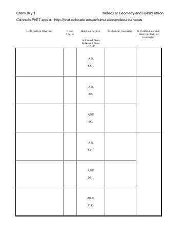 Lewis Structure and Molecular Geometry Worksheet as Well as Lewis Structure 3d Struct