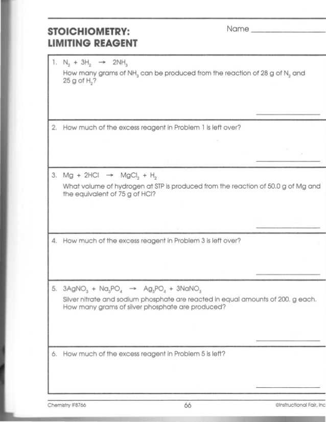 Limiting Reactant Worksheet Answers as Well as Best Limiting Reagent Worksheet New Unit 1 Worksheet 3 Portage
