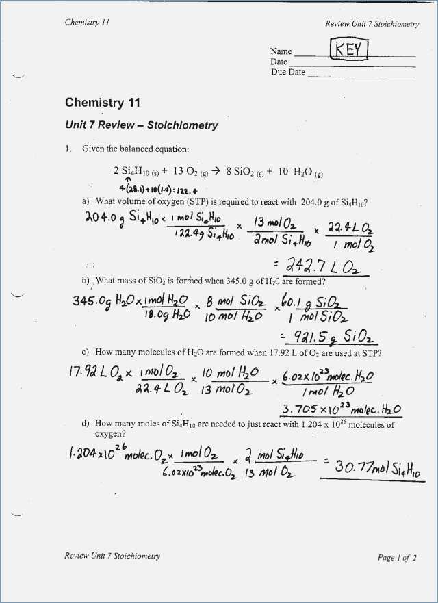 Limiting Reactant Worksheet Answers or Percent Yield Worksheet 1 Kidz Activities