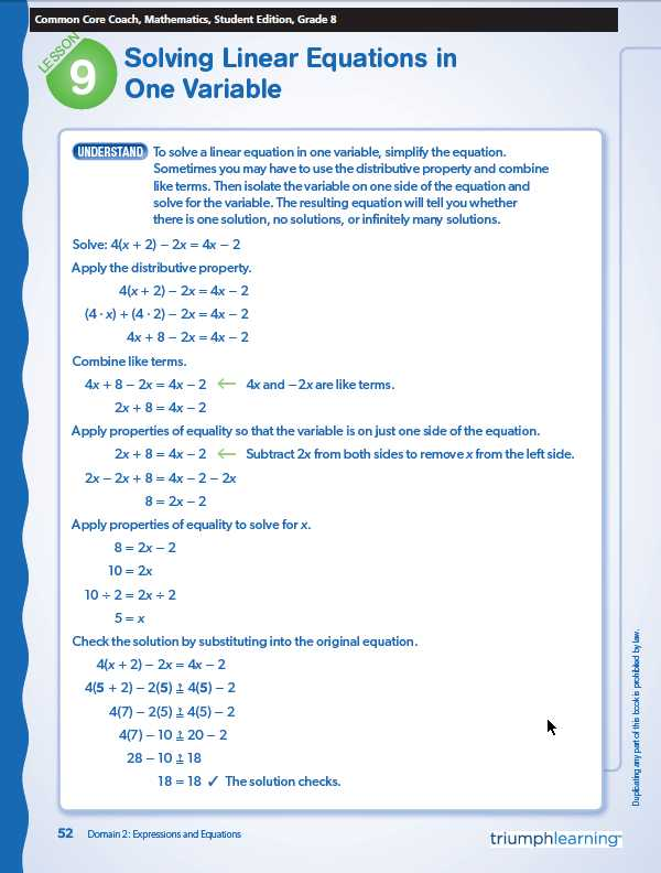 Linear Equations In One Variable Class 8 Worksheets and Mon Core Math Grade 8 Worksheets Unique 8 Best Writing