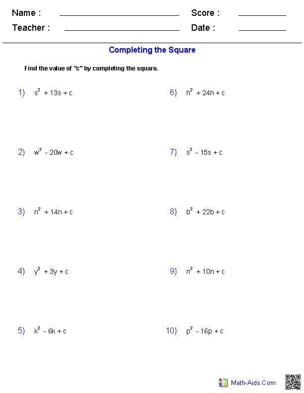 Linear Quadratic Systems Worksheet 1 together with Algebra 1 Worksheets