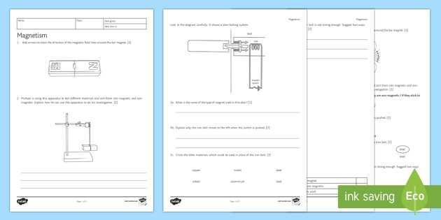 Magnetism Worksheet Answers Also Ks3 Magnetism Homework Worksheet Activity Sheet Homework