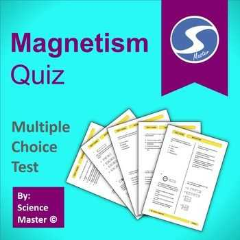 Magnetism Worksheet Answers with Magnetism Quiz