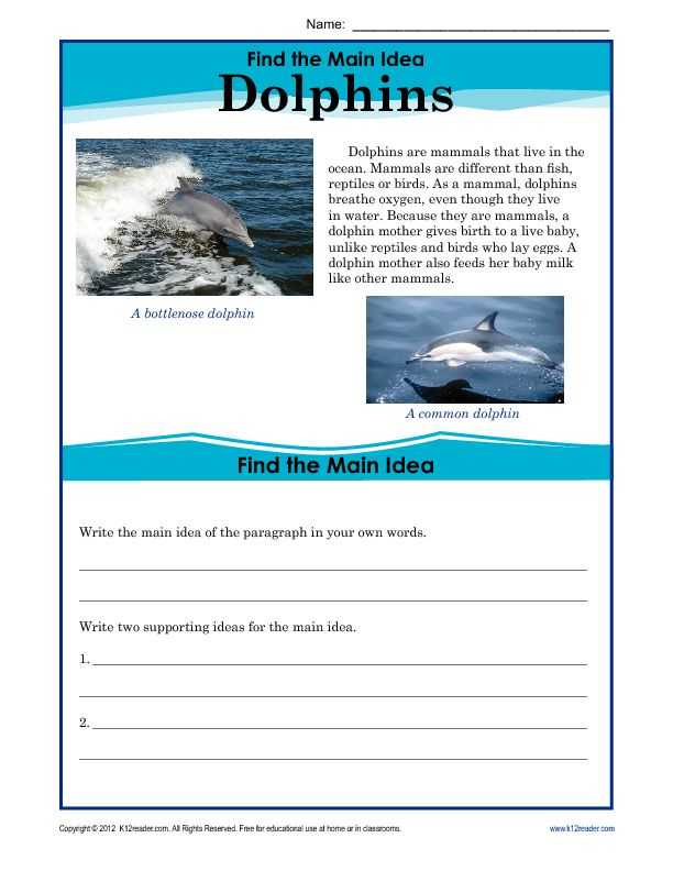 Main Idea Worksheets Pdf and 381 Best 3 Teaching Reading Images On Pinterest