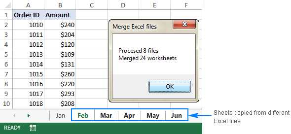 Merge Excel Worksheets Into One Master Worksheet and How to Merge Excel Files Into One