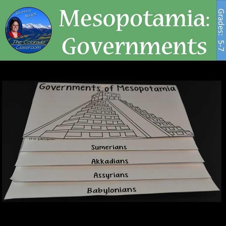 Mesopotamia Reading Comprehension Worksheets Along with Mesopotamia Governments