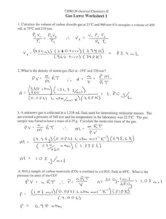 Molar Mass Chem Worksheet 11 2 Answer Key and Lovely Gas Laws Worksheet Beautiful Manometers 13 2 Manometers Name