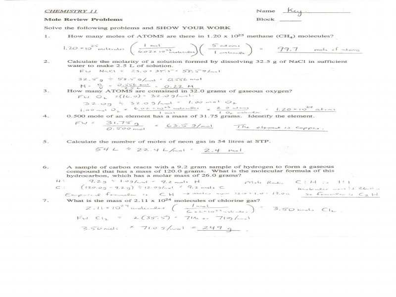 Molar Mass Worksheet Answer Key together with Stoichiometry Worksheet 2
