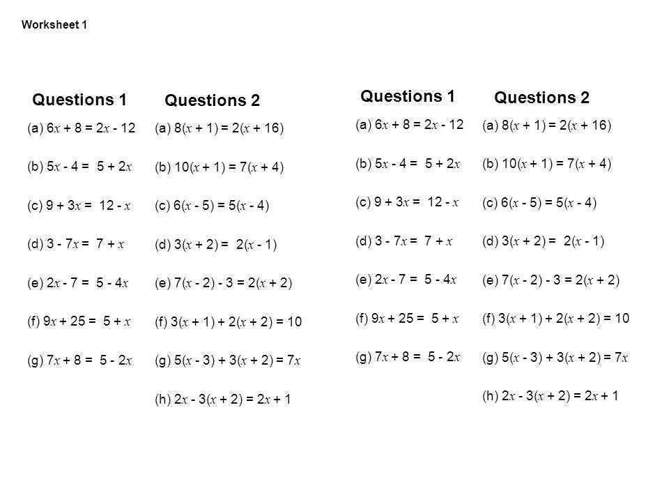 Multi Step Equations Worksheet Variables On Both Sides Also Best solving Equations with Variables Both Sides Worksheet