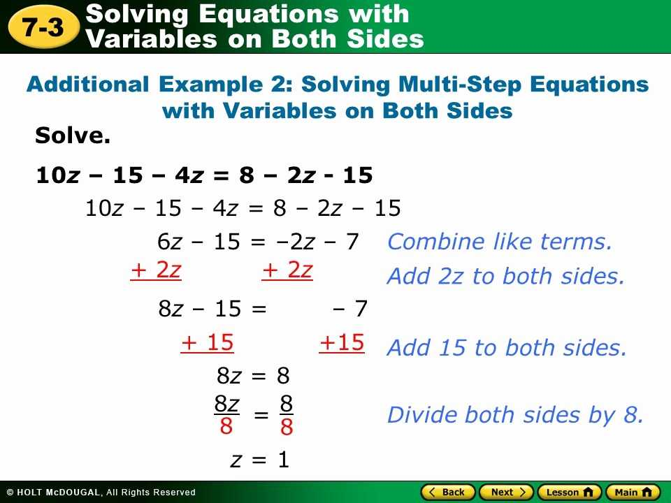 Multi Step Equations Worksheet Variables On Both Sides and Multi Step Equations Worksheet Variables Both Sides Luxury