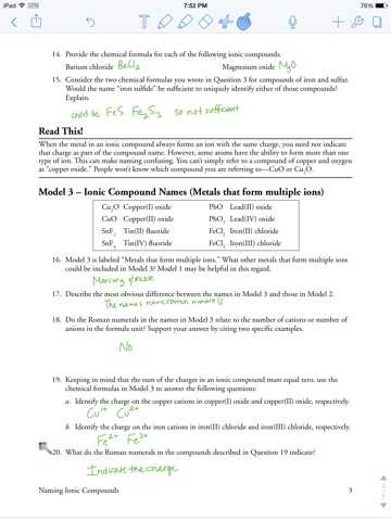 Naming Ionic Compounds Worksheet Answers or Naming Ionic Pounds Worksheet Pogil Kidz Activities