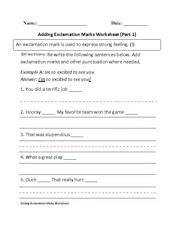 Parallel Structure Practice Worksheet Along with Worksheets 43 Fresh Punctuation Worksheets Hi Res Wallpaper