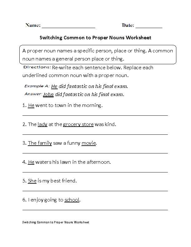 Parallel Structure Practice Worksheet as Well as Noun Practice Worksheet Worksheets for All
