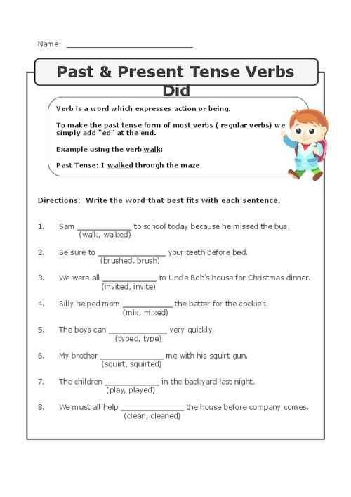 Past Tense Verbs Worksheets as Well as Best Verb Tense Worksheets New Circling Past Tense Verbs