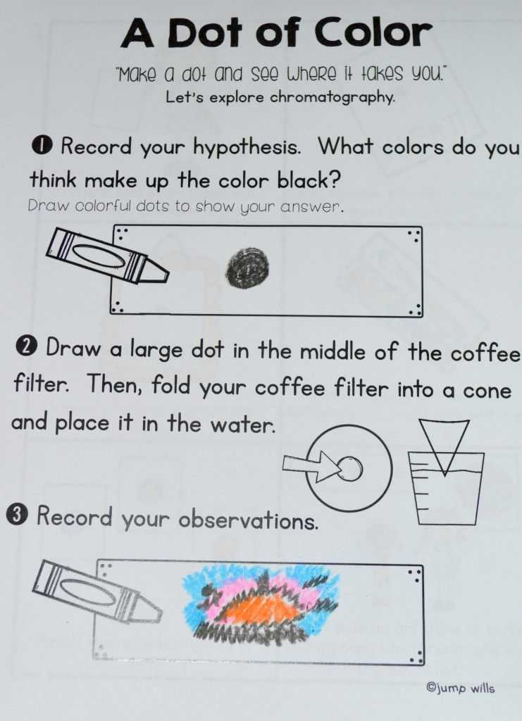 Peters Experiment Worksheet Answer Key as Well as I Love the Dot by Peter H Reynolds Swing by to See A Week S Worth