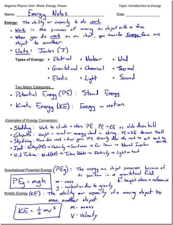 Potential Energy and Kinetic Energy Worksheet Answers together with Kinetic Energy Math Worksheet Kidz Activities