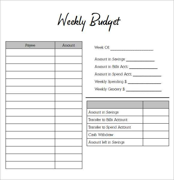 Printable Budget Worksheet Pdf Also Blank Bud Template Unique Best S Monthly Accrued Household Bud