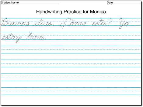Printable Cursive Handwriting Worksheet Generator as Well as Year 6 Handwriting Worksheet Kidz Activities